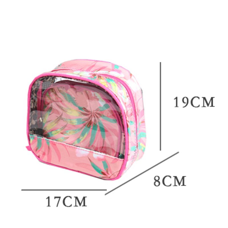 Girl Makeup Bag Cute Storage Large Capacity Wash Cosmetic Bags Make Up Pack Toiletry Package Travel Portable Cosmetics Packet