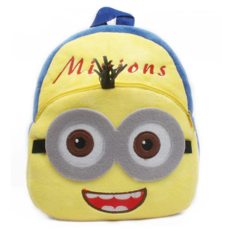 New-Arrival-Minions-Plush-Kids-Backpackers-Children-School-Bags-Christmas-Gifts-1
