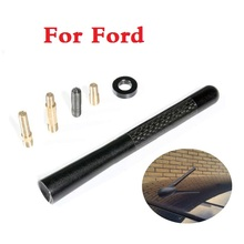 Car Auto Carbon fiber wrc short antenna radio antenna for Ford Fiesta Fiesta ST Five Hundred Flex Focus RS Focus ST Freestyle