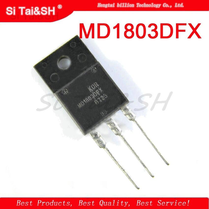 5pcs  MD1803DFX 1803DFX  TO-3PF 1500V 10A