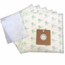 15 Cleanfairy vacuum cleaner bag compatible with Samsung VP77 SC4000 series AEG GR50 smart 300 366, Nilfisk GM50 55 Menalux 5100