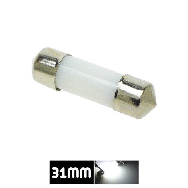 Dôme de décoration LED 31mm 36mm 39mm 41mm c5w 212-2 6418 blanc froid lecture plaque d'immatriculation lampe lumière LED ampoule couverture laiteuse ampoules 12V 1