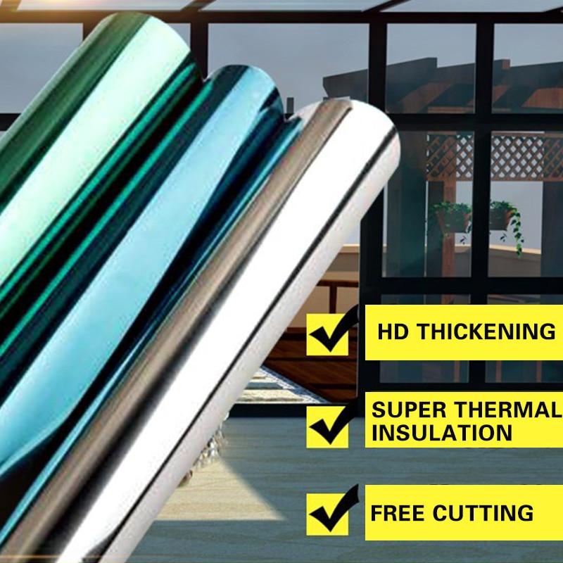 30 40 50 60cm window sun block film privacy heat film anti. Black Bedroom Furniture Sets. Home Design Ideas