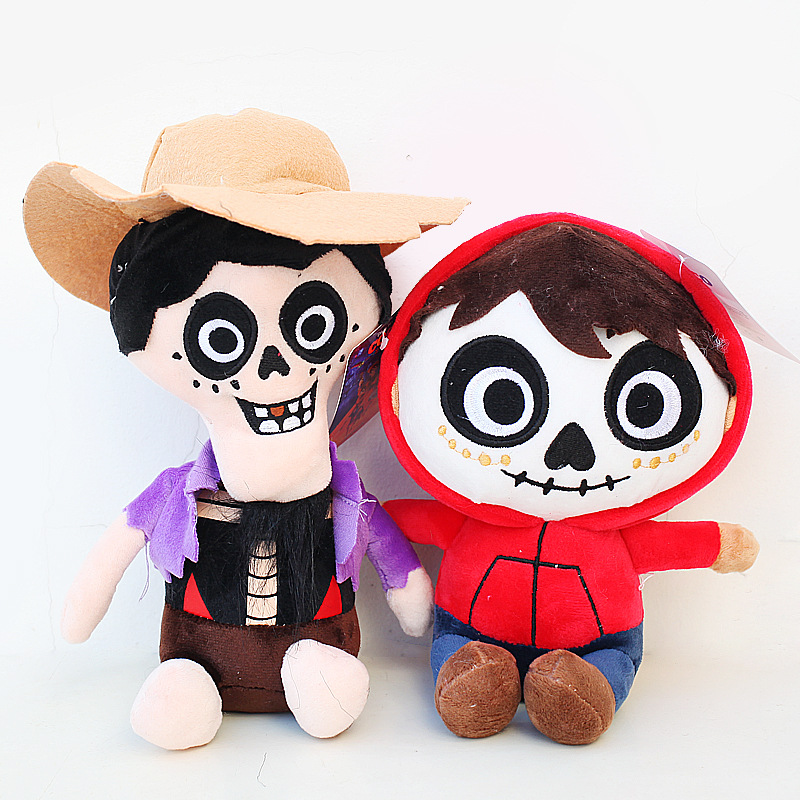 New Disney Pixar COCO Héctor Soft Plush Cartoon Toy Doll Gift Collect Decor 30cm