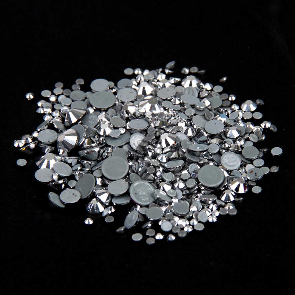 Labrador cristal hotfix strass para o prego ss6-ss30 e misturado cola de apoio ferro em pedras strass diy jóias mochila suprimentos