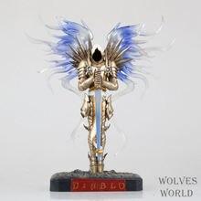 Игры WOW темная серафима тираэль архангел 28 см пвх фигурку игрушки подарки модель коллекции бесплатная доставка GS003