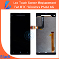 LL TRADER Black New for HTC Windows Phone 8X C620e LCD Display with Touch Screen Digitizer Assembly Replacement free shipping