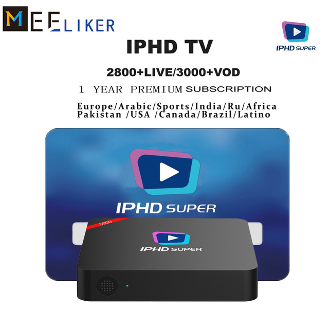 US $40 45 5% OFF|2018 best Linux iptv box S900 includes 2800+IPHD iptv  channels Arabic Europe Africa America USA iptv subscription free 1 year -in