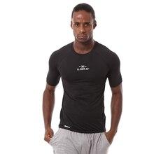 Short sleeved font b men s b font clothing compression tights font b Workout b font