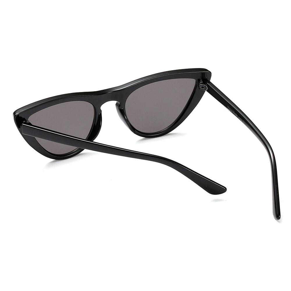 Peekaboo vermelho pequenos óculos de sol mulheres olho de gato do vintage  2018 designer de preto branco sexy cat eye shades para mulheres baratos  uv400 em ... f77da44513
