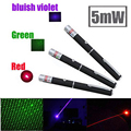 Green Laser sight Pointer Hunting Device 5mW 532nm Stars 500-2000m green/red light Lazer Pen flashlight (No battery)