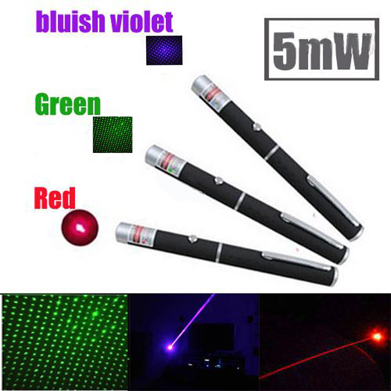 Green Laser sight Pointer Hunting Device 5mW 532nm Stars 500-2000m green/red light Lazer Pen flashlight (No battery)