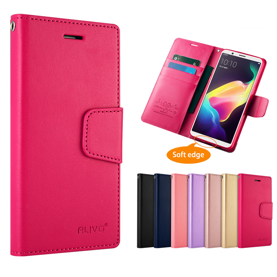 Fashion Business Style PU Leather Wallet Phone Bag Case For OPPO R11s R15 Filp cases For OPPO R11 s R 15 Phone Bag with Stand