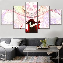 Itachi NARUTO Anime Wall Art Canvas Painting 5 Piece Modern HD Print For Living Room Artwork