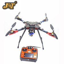 JMT Foldable Rack RC Quadcopter RTF with AT10 Transmitter QQ Flight Control Motor ESC Propeller Camera