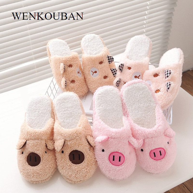 Basic Winter Shoes Woman Fur Slippers Warm Plush Fluffy Home Slippers Cotton Slides Women  Mules Wool Ladies Flat Indoor Shoes Basic Winter Shoes Woman Fur Slippers Warm Plush Fluffy Home Slippers Cotton Slides Women  Mules Wool Ladies Flat Indoor Shoes