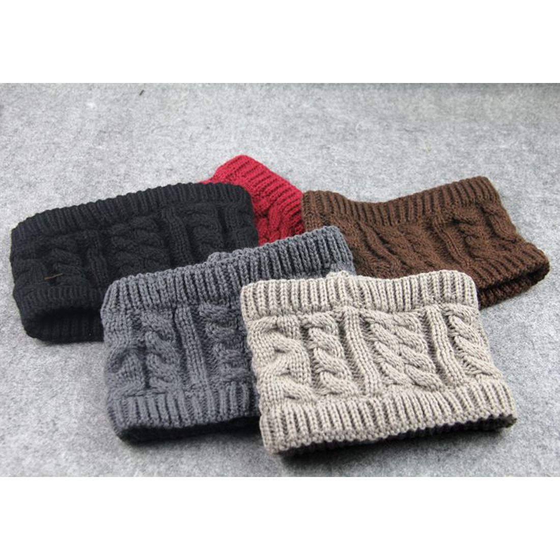 Comfortable Chic Women Knitted Empty Skull Beanie Warm Hat Lady Girl Winter Ski Cap