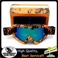 2016 nueva llegada gafas de casco de moto para ktm de motocross profesional de gafas anteojos de la motocicleta gafas de casco de motocros