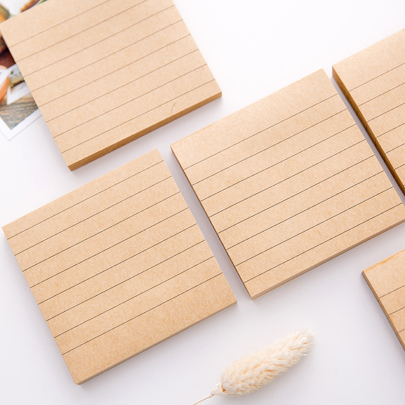 Office & School Supplies 1pcs 80 Sheets Korean Sticker N Post Convenient Paste Memo Pad Sticky Notes Notebooks Writing Pads Memo Pad For Students