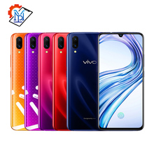 Оригинальный Vivo X23 мобильный телефон 6,41 «полный экран 8 Гб оперативная память 128 Встроенная Snapdragon 670 Octa Core Android 8,1 Dual камера смартфон