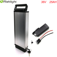 electric bike 36V 25Ah battery with charger 36v 25a electric bicycle li-ion battery 36v 1000W lithium battery  For Samsung  cell