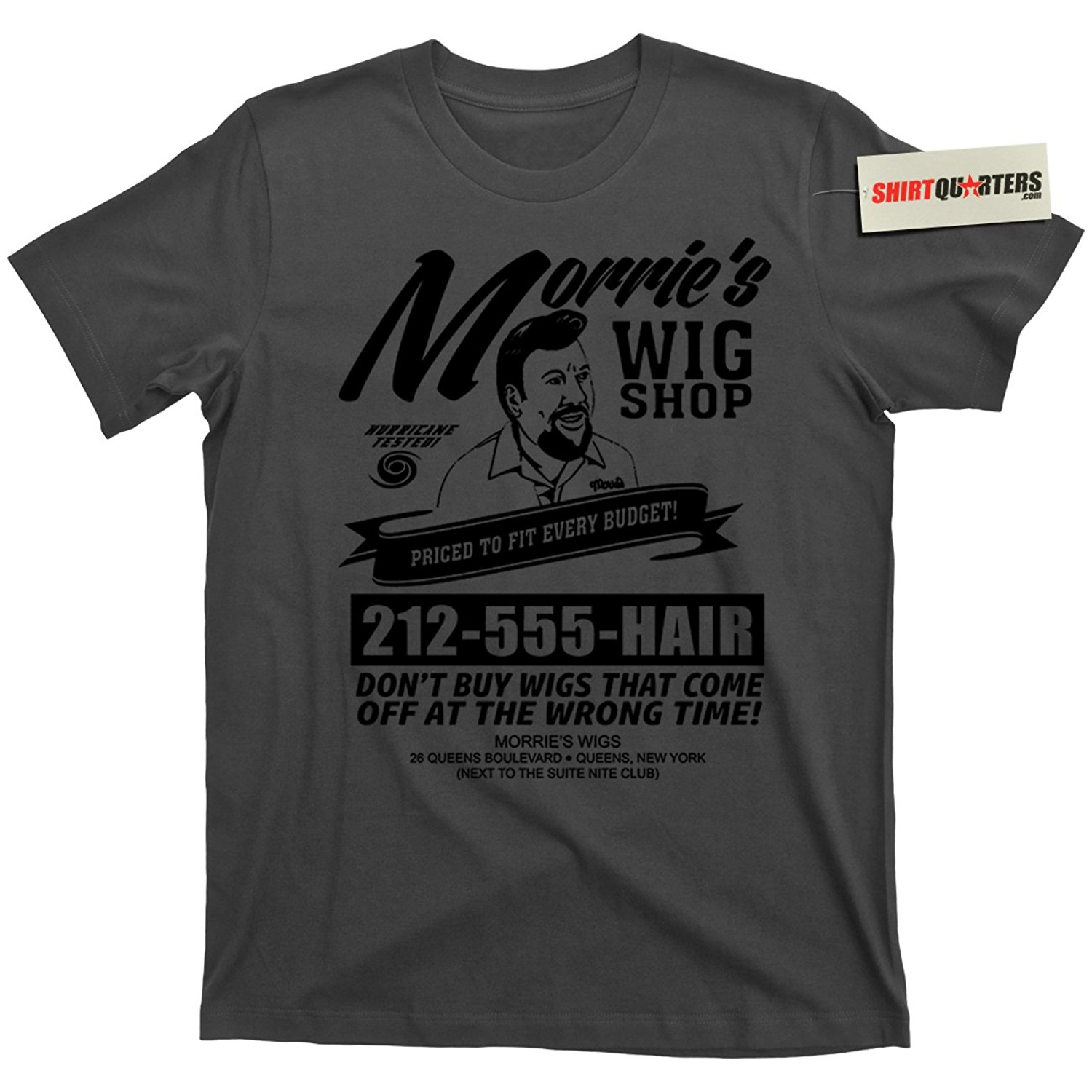 2019 New Summer High Quality Tee Shirt Morrie's MORRIES Wigs Wig Shop Goodfellas Movie Mobster Mafia T Shirt Cool T-shirt image