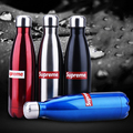 2016 Newest Fashion 350mL/500mL/750mL Supreme Vacuum Flask Coke Bottle Thermoses Bowling Cup 304 Stainless Steel Insulated Mug