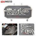 Para Ktm Duke 125 200 Accesorios de La Motocicleta Moto Cnc Piezas de Acero Inoxidable Parrilla de Radiador Guardia Protector de La Cubierta Negro Caliente