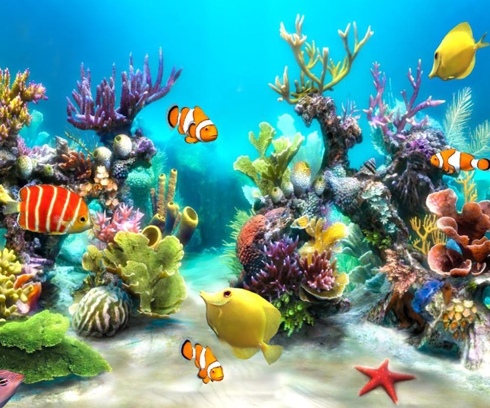 Fish Tank 3d Live Wallpaper For Pc Colorful Under Sea Www Pixshark Com Images Galleries