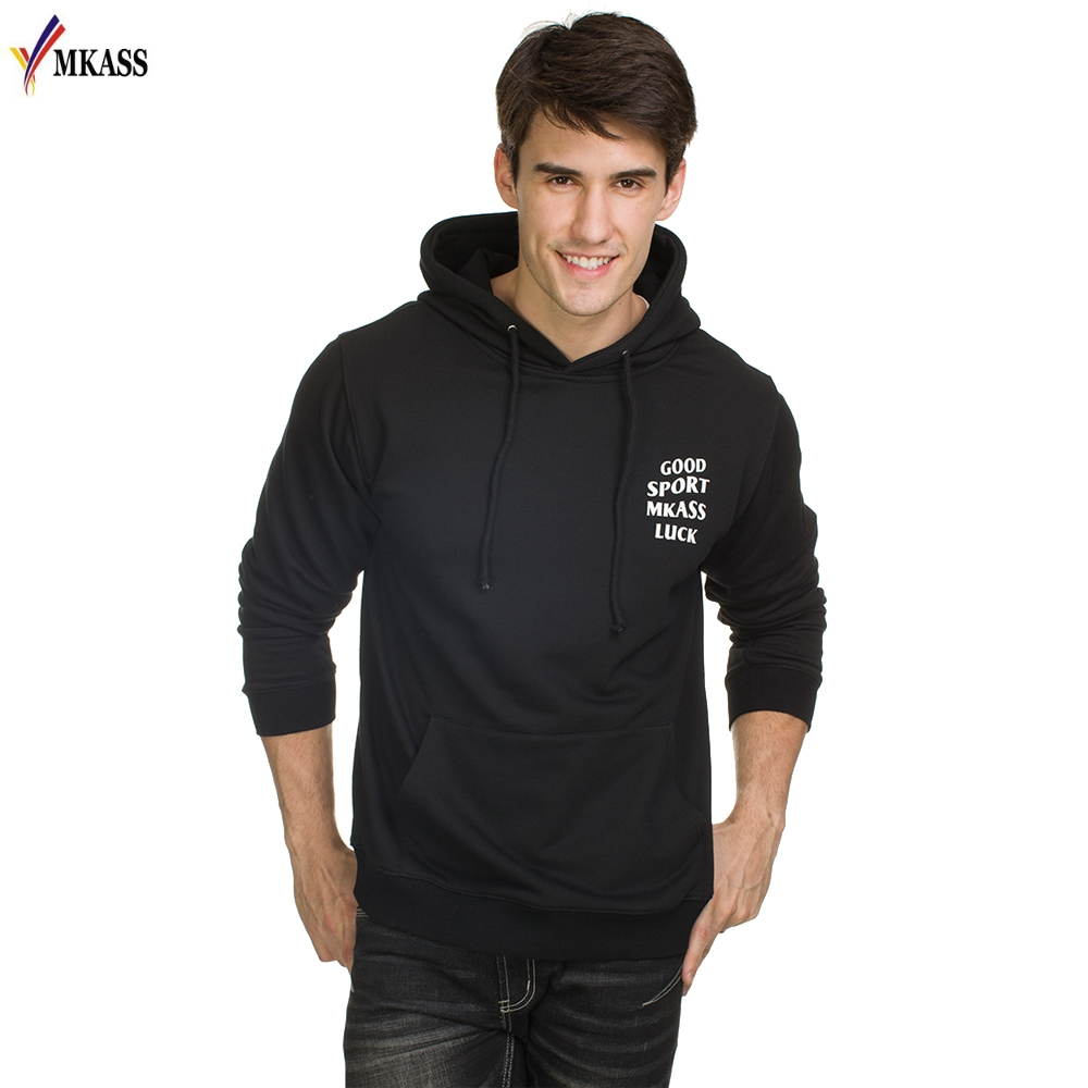 Hot Sale Hoodies Men Sweatershirt  New Men's Fashion Casual Hooded Letter Printing Pullover Hoodie