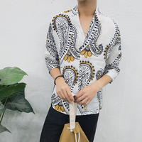 18 A Summer Male T Pity China Wind V Lead Printing Fivepence E Paragraph Wash Flax