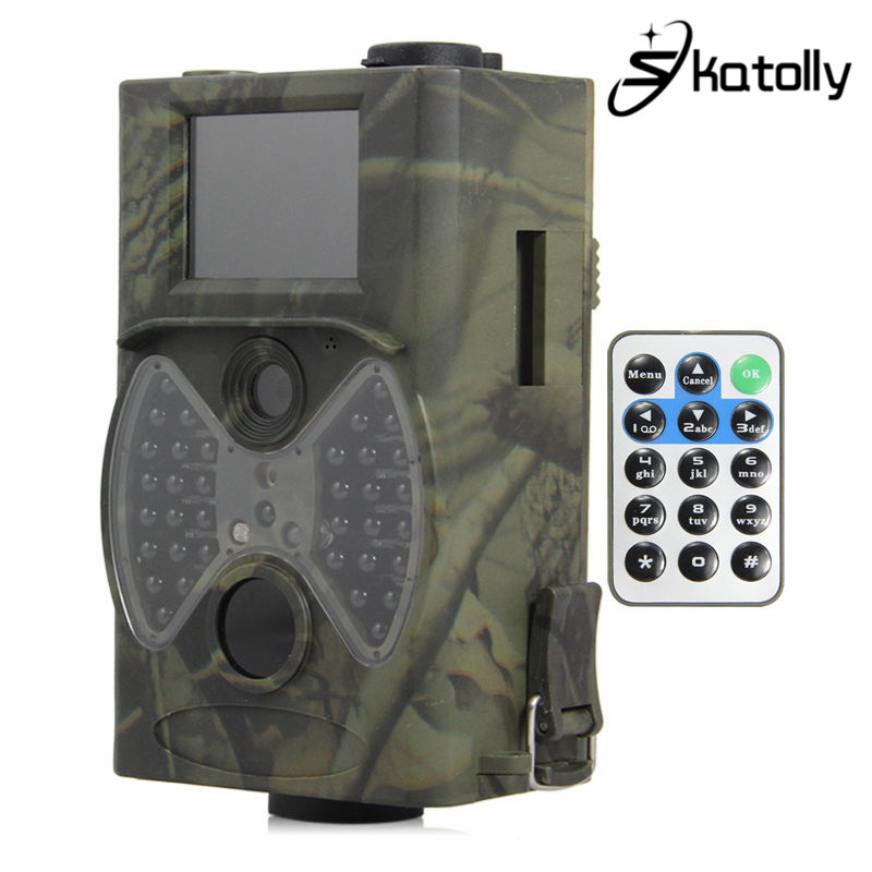 Skatolly Outdoor HC300 HC-300A Scouting Hunting Camera 12MP HD 940NM Infrared Wildlife Night Vision Trail Camera+Free shipping! free shipping wildlife hunting camera infrared video trail 12mp camera