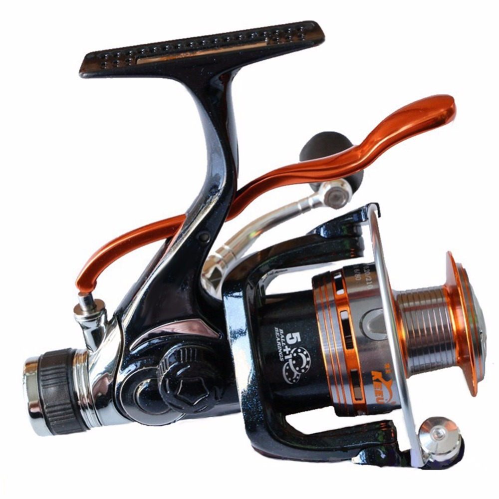 None Hand Brake Metal Wire Cup Fishing Gear Front And Rear Drag Reels Fishing Reel Spinning Wheel Type