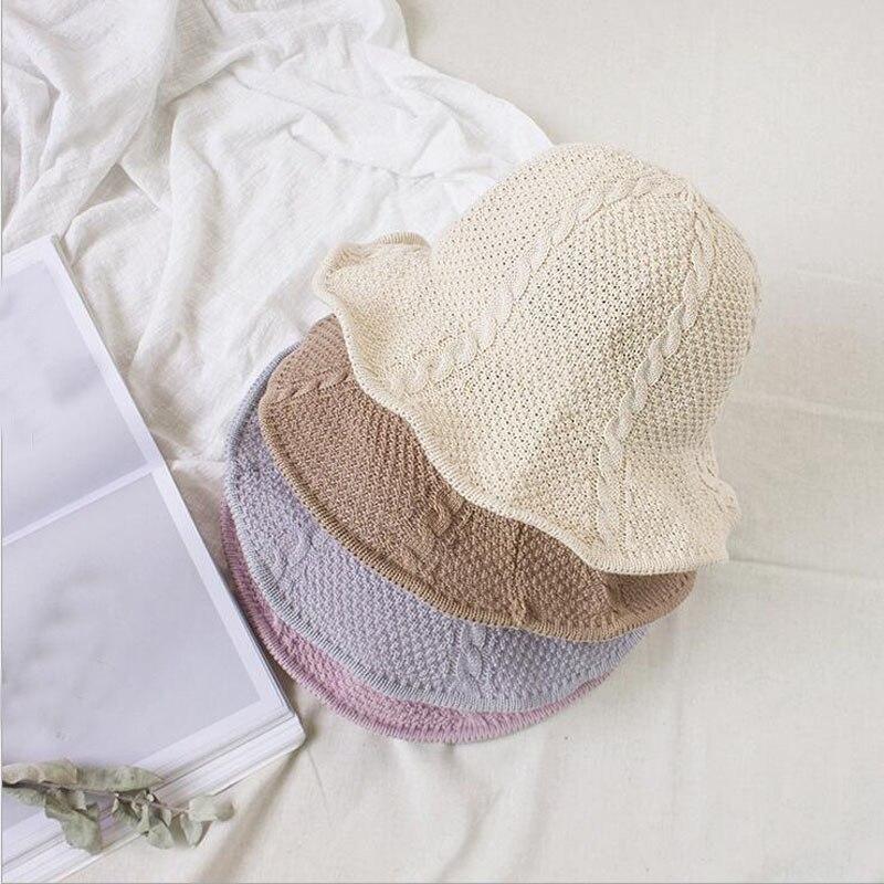 Detalle Comentarios Preguntas sobre 2017 Nuevo Chapeau Femme protector  solar moda sombrero de ala corta Floppy verano Playa Sol paja sombrero  pescador ... 35fe41ee6a3