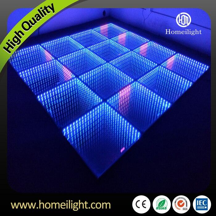 Free Shipping 3x4M LED Dance Floor Tiles Infinity Mirror Dance Floor ...