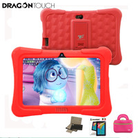 Dragon Touch Red Y88X Plus 7 Inch Children Tablet Quad Core Android 5 1 Tablet Case