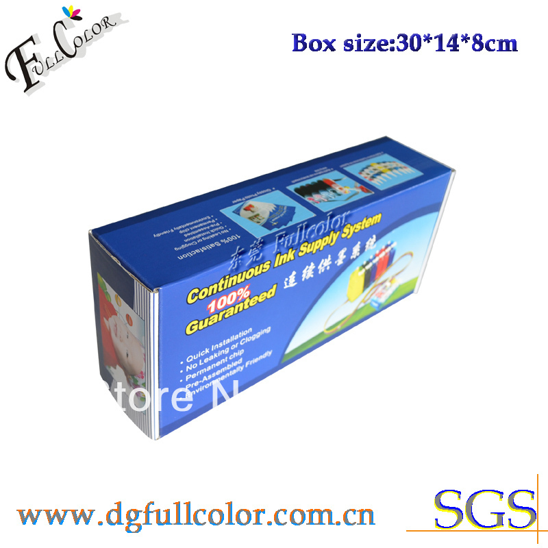 Free shipping  Compatible CISS 250 251 ink system with ink and ARC chip For PIXMA IP7220 inkjet printer CISS 5 COLOR