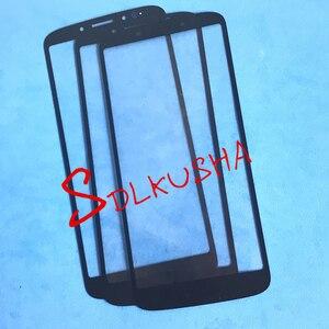 Image 3 - 10 adet/grup Ön Dış cam ekran lensi Yedek Dokunmatik Ekran LCD motorola moto için kılıf G6 Oyun xt1922