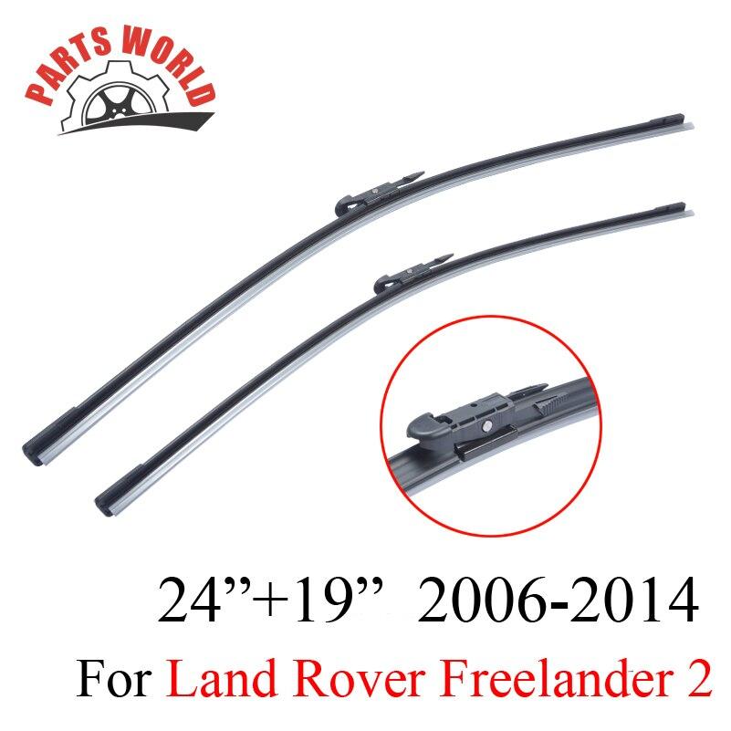 Lames d'essuie-glace Pour Land Rover Freelander 2 2006-2014 Haute Qaulity Caoutchouc Pare-Brise Pare-Brise De Voiture Accessoires