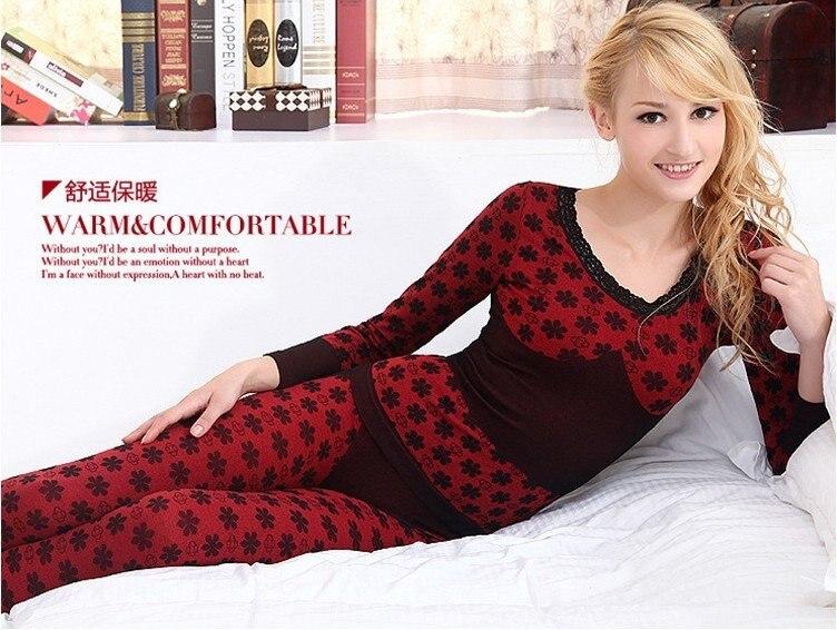 Popular Silk Thermal Underwear Women-Buy Cheap Silk Thermal ...