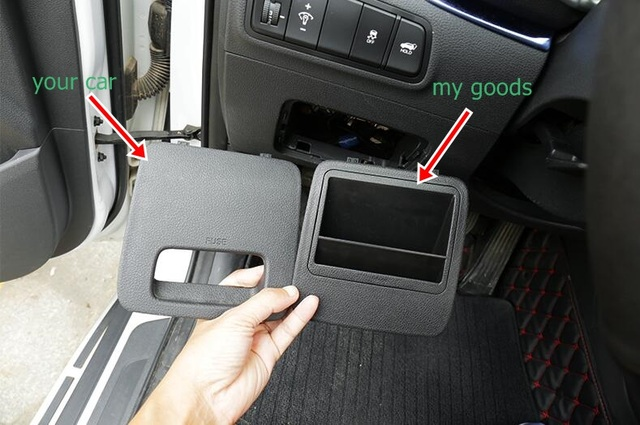 top quality best loved 2018 shoes US $8.8 |Aliexpress.com : Buy FIT FOR HYUNDAI TUCSON 2015 2016 2017 2018  ACCESSORIES STAINLESS INTERIOR SHIFT GEAR CUP BOTTLE HOLDER MAT PAD from ...
