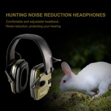 Outdoor Sports Anti-noise Headset Sound Amplification Electronic Shooting Earmuff Tactical Hunting Hearing Protective Headset(China)