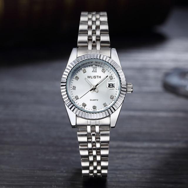 Reloj Mujer 2020 Da Polso Al Quarzo Delle Donne Della Vigilanza Della Vigilanza Superiore di Marca di Lusso Famoso Orologio Delle Signore Calendario Orologio Relogio Feminino Hodinky Box