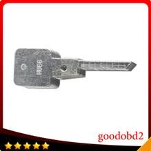 Оригинальный Выгравированы Основные Линии 2 в 1 Лиши HU66 2-в-1 ключевой инструмент масштаб режущих зубов пустой ключа автомобиля слесарь инструменты и сад