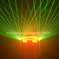 Мода зеленый лазер Очки светодиодные светящиеся партии Laserman Очки для ночного клуба КТВ бар этап Show