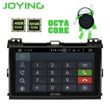 Радуясь ГБ 4 ГБ 64 Встроенная память Android 8,1 2 din 9 дюймов 8 Core Автомобильный gps плеер Радио стерео для Toyota Land Cruiser Prado 120 LEXUS GX 470