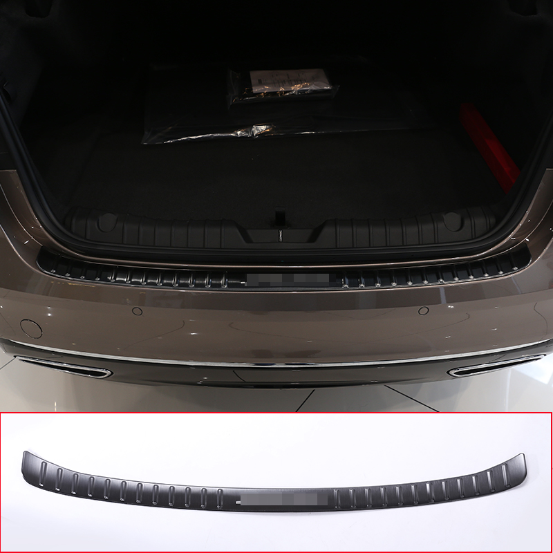 2 Color For For Jaguar XF Stainless Rear Bumper outside Sill Plate Protector Cover Trim jaguar jaguar for men edt spr