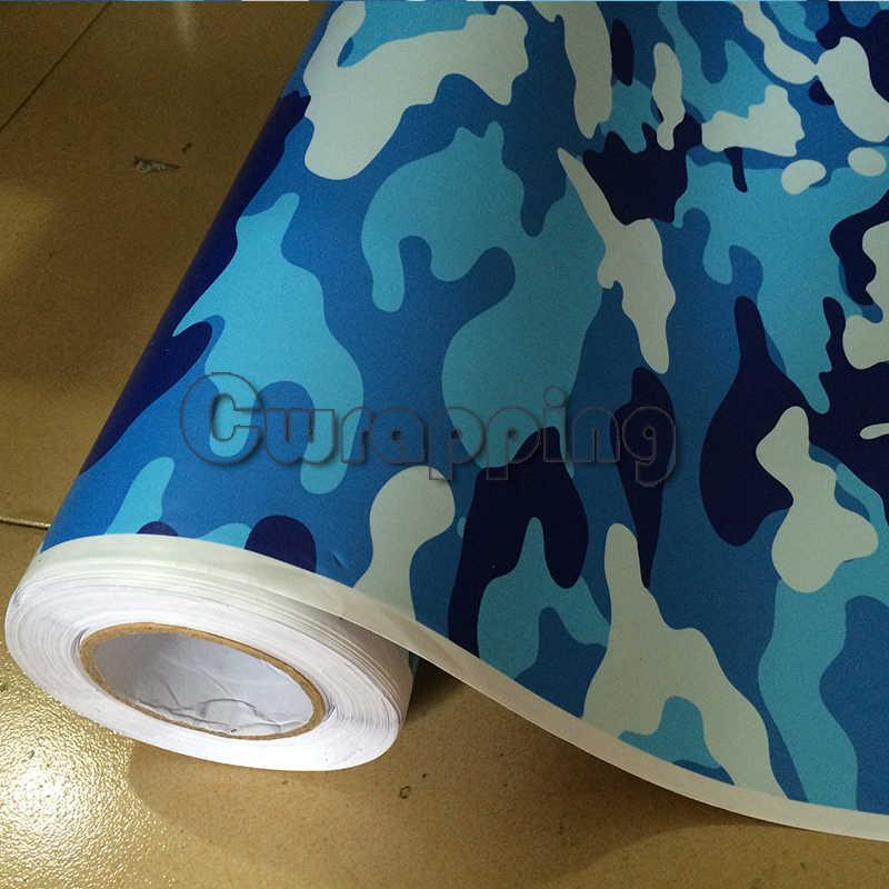 Синий Джамбо темно-синий камуфляж мотоцикл оберточная виниловая клейкая машина скутер графика стикербомб рулон лист 1,5 м 2 м 3 м Размер