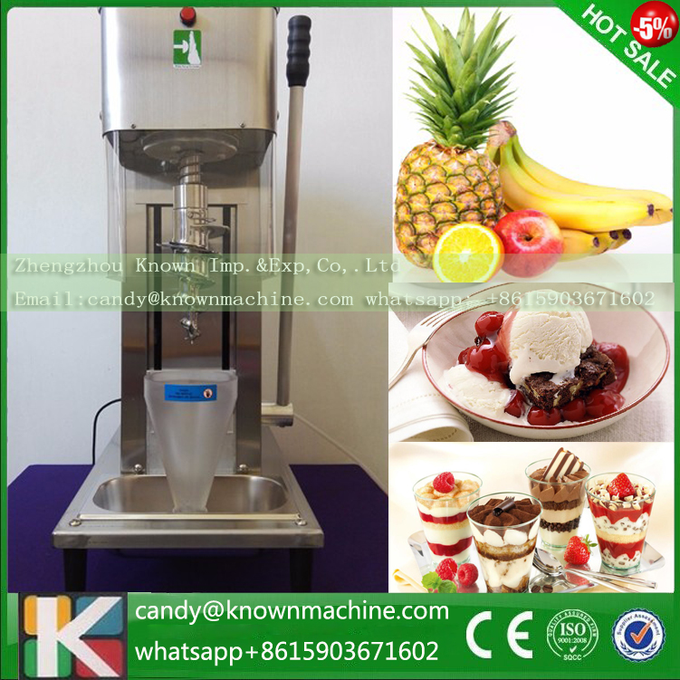 hot sale fast delivery fruit ice cream mixer, gelato fruit nuts mixer fruit ice cream feeder from factory selling gelato fruit nuts mixer