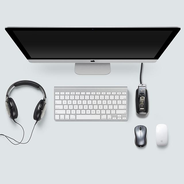 Vention 4 Port USB HUB 2.0 Portable OTG HUB 480Mbps USB Splitter with LED Lamp for Apple Macbook Laptop PC Tablet USB 2.0 HUB